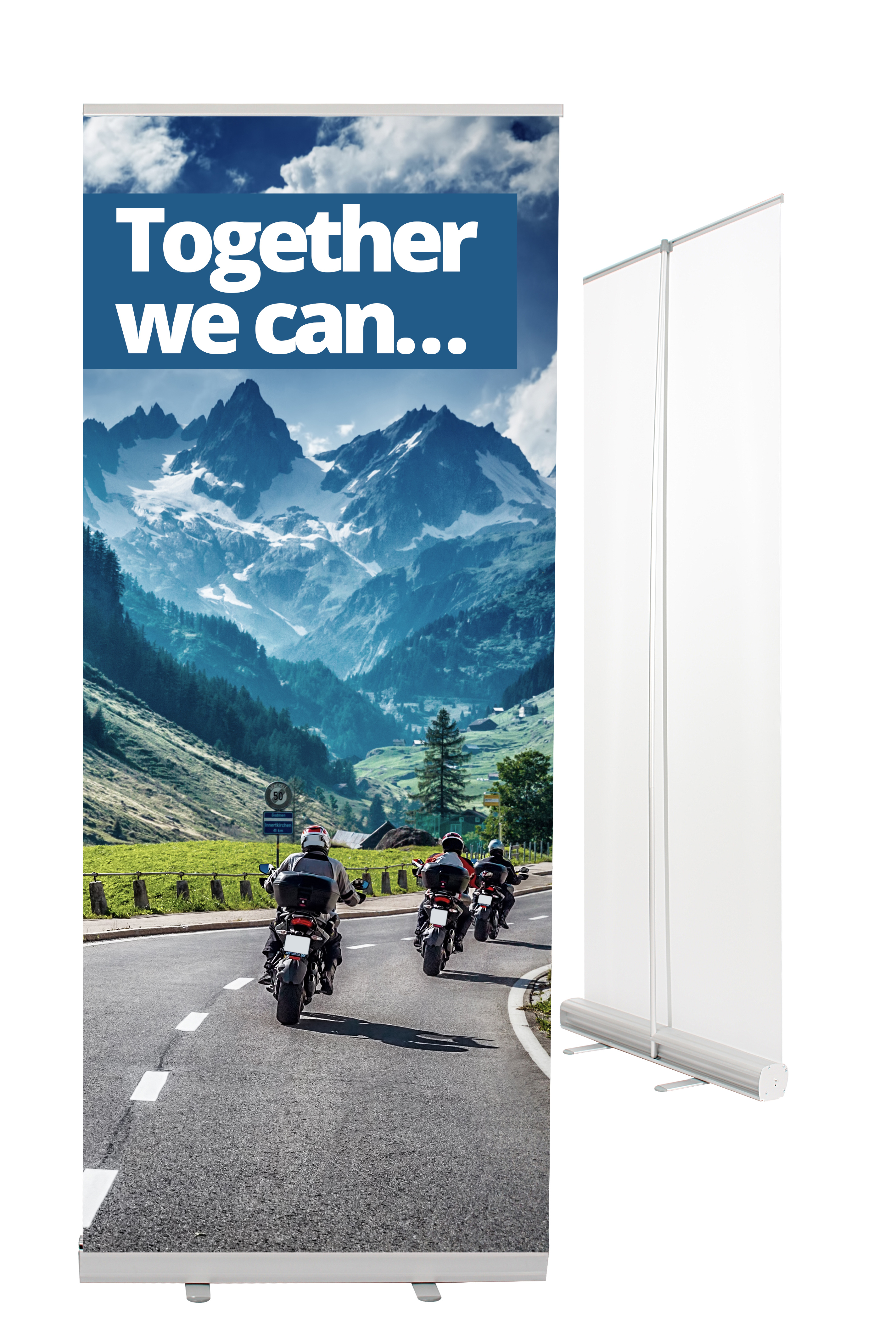 Roll-Up-Rollbanner